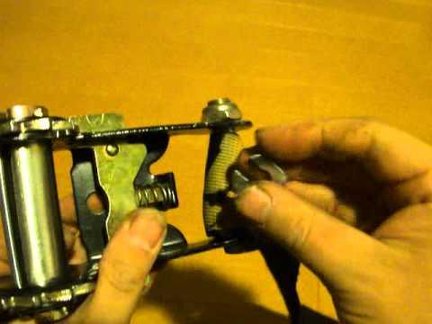 ギボンのラチェットのバネの強化方法