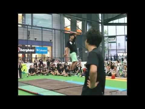 2011日本オープンスラックライン選手権大会のオフィシャル動画