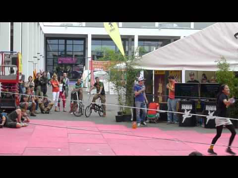 GIBBON SLACKLINES OUTDOOR OPEN!にて日本人選手が男女とも二位