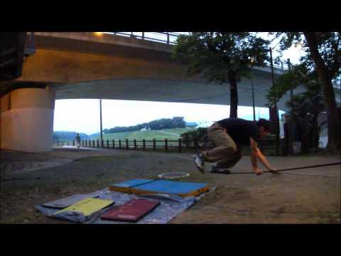 昨日の夜練習の動画を編集公開