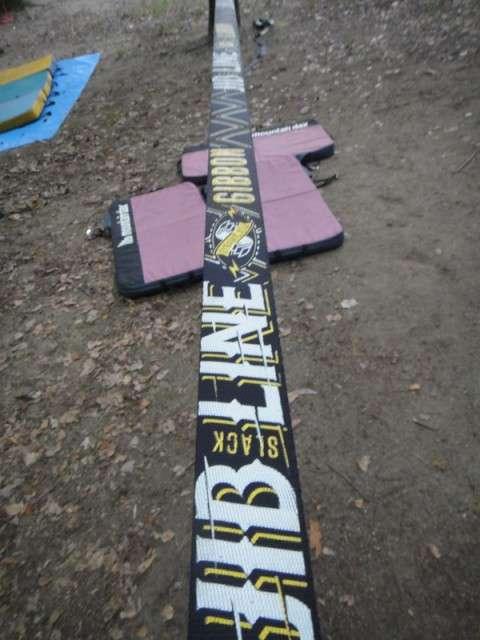 2013-06春日公園で集まってスラックラインをやりました。ロングラインのレイアウトも紹介。