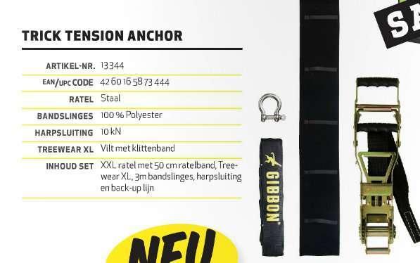 ギボンの2014年度カタログが公開。XXLサイズラチェットやスリング、ラインのみ販売など。