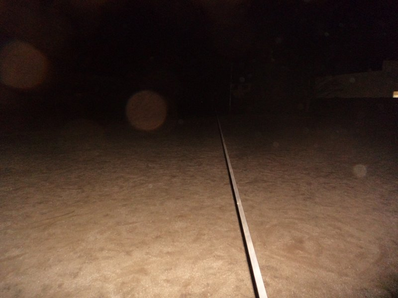 夜のロングラインやってたら通報されてパトカー来た?