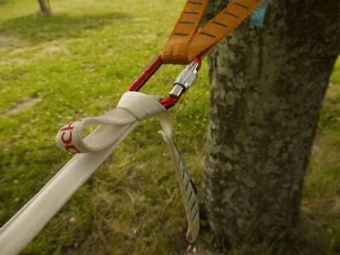 強く張れない張り方なので、直接結んでもok.この結び方はラインロッカーヒッチといいます。