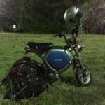 軽量ラインと東日本大震災と九州の公園と電動バイクEC-02とザック