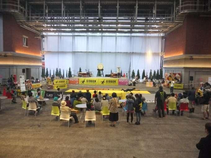 ギボンカップ福岡久留米-スラックラインの大会