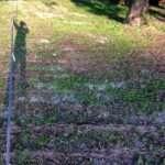 101mロングラインの装備と自分の影