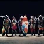 カップヌードルのCM「7 SAMURAI」に女武者姿でスラックラインするユキミちゃんが登場