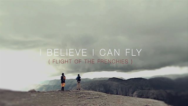 I Believe I Can Flyの本編動画を見逃してました・・・