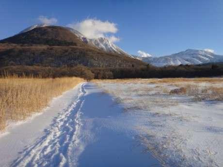 たまには風景写真でも「冬の九重」
