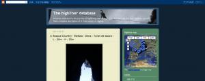 フランスのハイラインの記録サイト:The highliner database