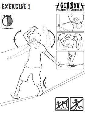 スラックラインの歩き方とコツ(なかなか歩けない人向け)